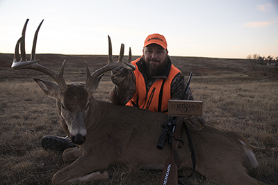 Buckventures hunting with Buffalo Cartridge ammunition.